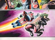 Sparkster the Rocket Knight Unreleased Comic Photo6