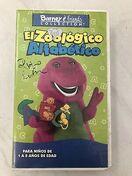 Barney-El-Zoologico-Alfabetico-SPANISH-ESPANOL-VHS-RARE