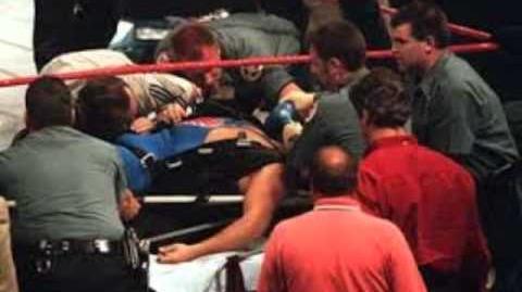 La Caida de Owen Hart en el PPV Over The Edge 1999 - Español Latino (SOLO AUDIO)