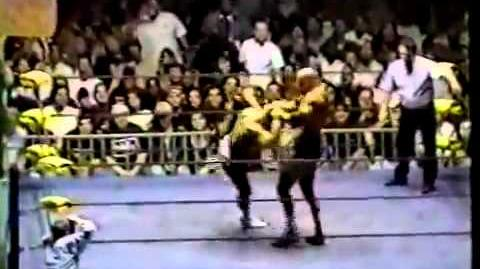 Curt Hennig vs Goldberg LA Melee 10th July 98