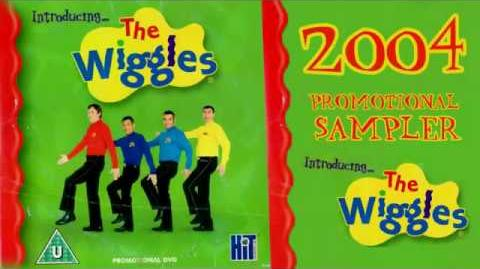 The Wiggles 2004 Nick Jr UK Promotional Sampler DVD