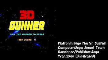 3D Gunner (Sega Master System) Soundtrack