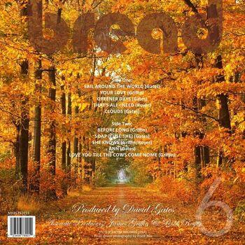 Six (Unreleased Bread Album, 1973) back