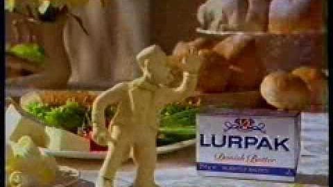 Lurpak Spreadable - Rascal (1990's, UK)