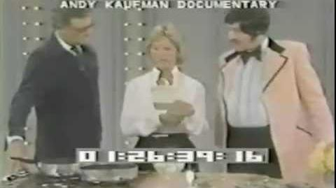 Tony Clifton aka Andy Kaufman on The Dinah Shore Show