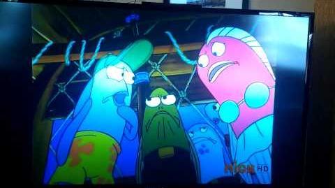 Strange Spongebob Interruption