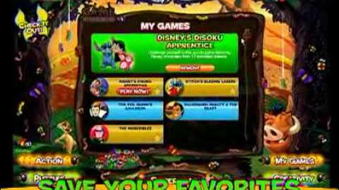 Disney's Magic Game Kingdom Online (Lost Disney Website, Late 1990's - Early 2010's)