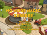 No More Magic, Zebedee (lost English dub episode)