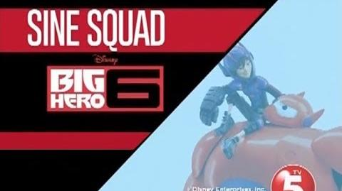TV5's SINE SQUAD - BIG HERO 6 PLUG