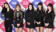 레드벨벳 SBS 가요대전 포토월 (1)
