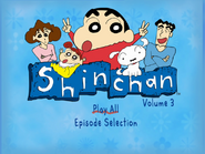 Shin Chan Volume 3 Main Menu
