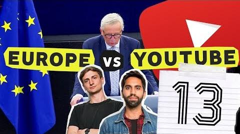 YouTube is Changing Article 13 Explained