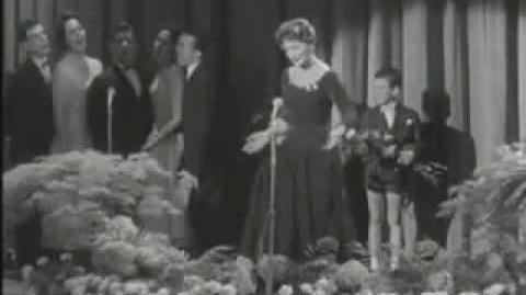 Eurovision 1956 Switzerland Lys Assia - Refrain