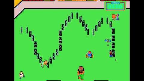 Domino Man(unreleased Colecovision game)