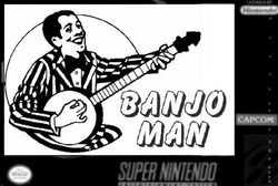 Banjo Man Box Art