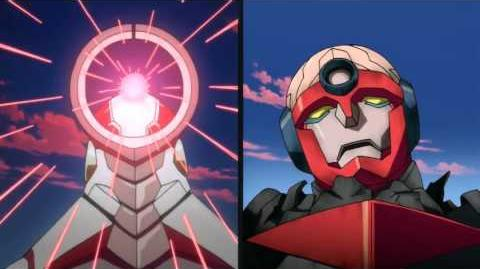 Gurren Lagann - First Combine Comparison-0