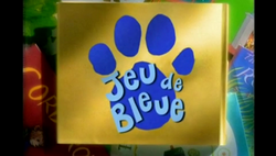 Blues Clues French logo