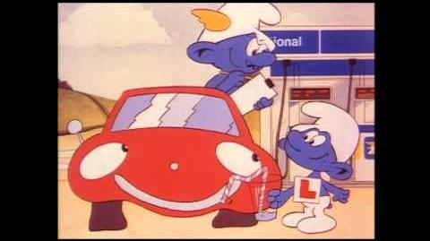 BP Smurfs television advert