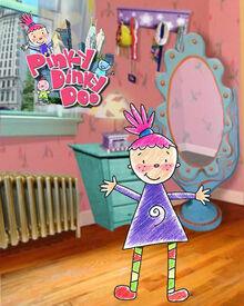 Pinky Dinky Doo Pilot Logo 2004