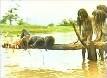 Cannibal holocaust piranha scene alt angle