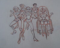 Sailor scouts pencil