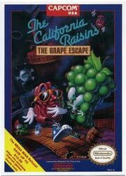 The california raisins, the grape escape cover