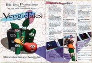 RARE VeggieTales Magazine Image from 1993!!!!!