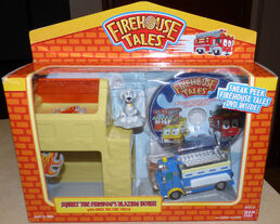 Firehouse Tales Play Set and DVD