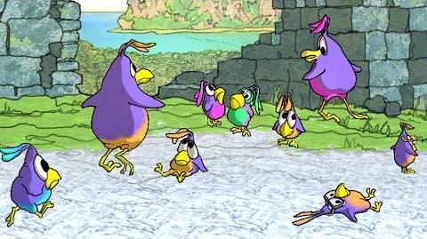 Lenguins (2004 tech demo)