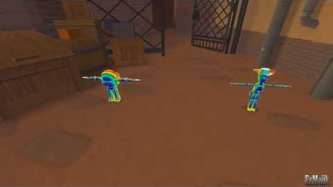Kingdom Hearts II Woody and Buzz