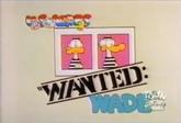Wanted Wade (ToonDisney)