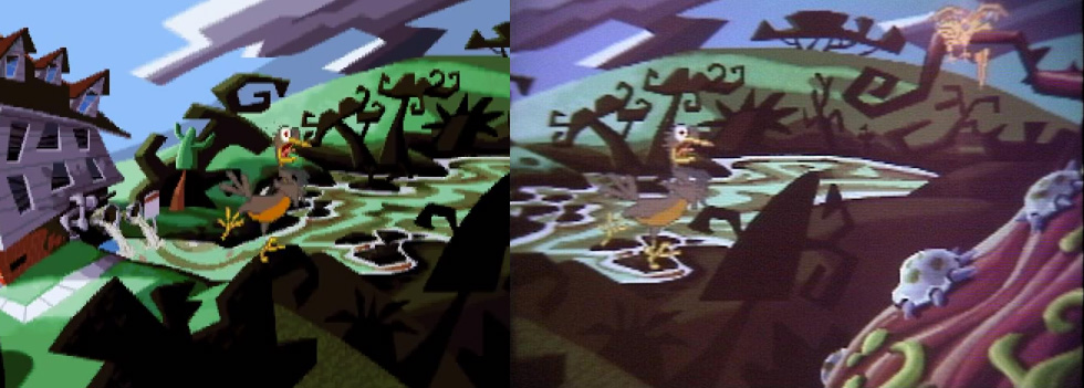 Day Of The Tentacle Concept Art