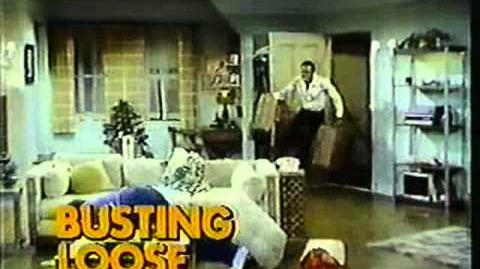 CBS promo Busting Loose 1977