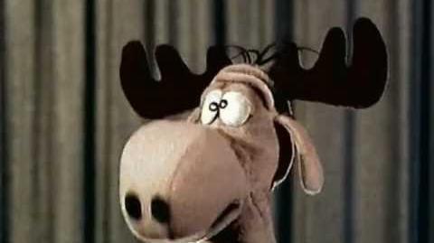 The Bullwinkle Show - Bullwinkle Puppet (Lost 1961 TV Segments)