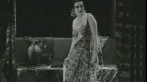 "Theda Bara ""Cleopatra"" (1917) surviving footage"