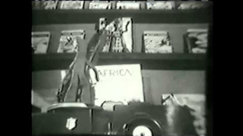15 Second Footage From the Rare 1950's Opening of The Gumby Show