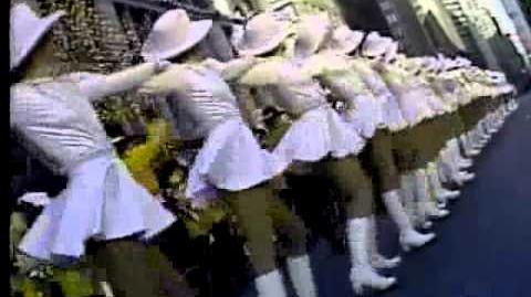 1982 Macy's Thanksgiving Day Parade with Centerville High School Marching Band