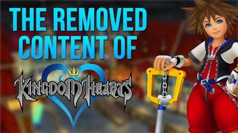 The Removed Content of Kingdom Hearts