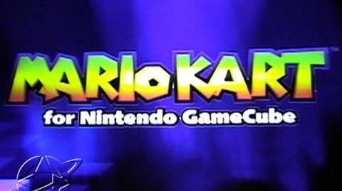 Mario Kart for Nintendo GameCube (Mario Kart Double Dash!! Beta) - Tech Demo (E3 2000)