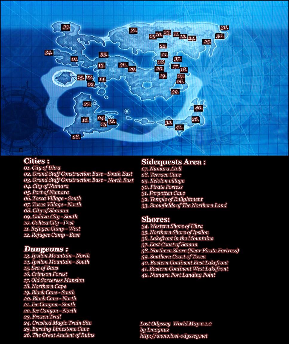 Maps Gallery Lost Odyssey Wiki Fandom Powered By Wikia