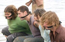 Jack Kate Sawyer Hurley 2x24