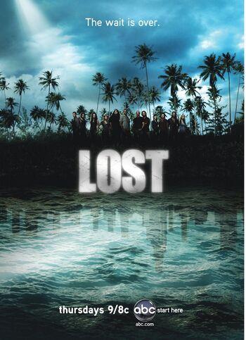 Lost season 4 poster