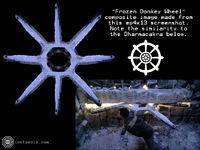 Frozen donkey wheel composite