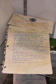Carta de Sawyer (Subastada)