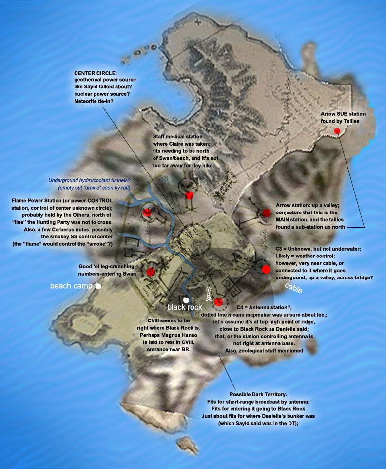 Fan maps lostpedia fandom powered by wikia blastdoor brains sciox Gallery