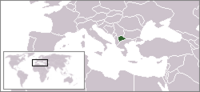 Location of Macedonia
