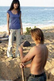 3x14Sun&Sawyerconfrontation