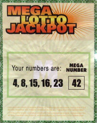 Lotto ticket