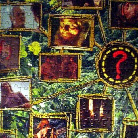 Parte esquerda central do quebra-cabeça 2.