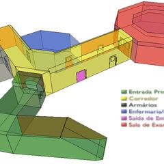Mapa do Cajado em 3 dimensões